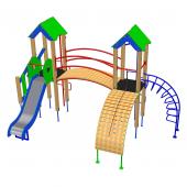 Детский комплекс «Домик-3»
