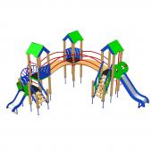 Детский комплекс «Домик-4»