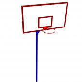 Щит баскетбольный 180х105 (FIBA) 2