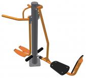 Жим ногами горизонтальний - тренажер для м'язів стегна CV
