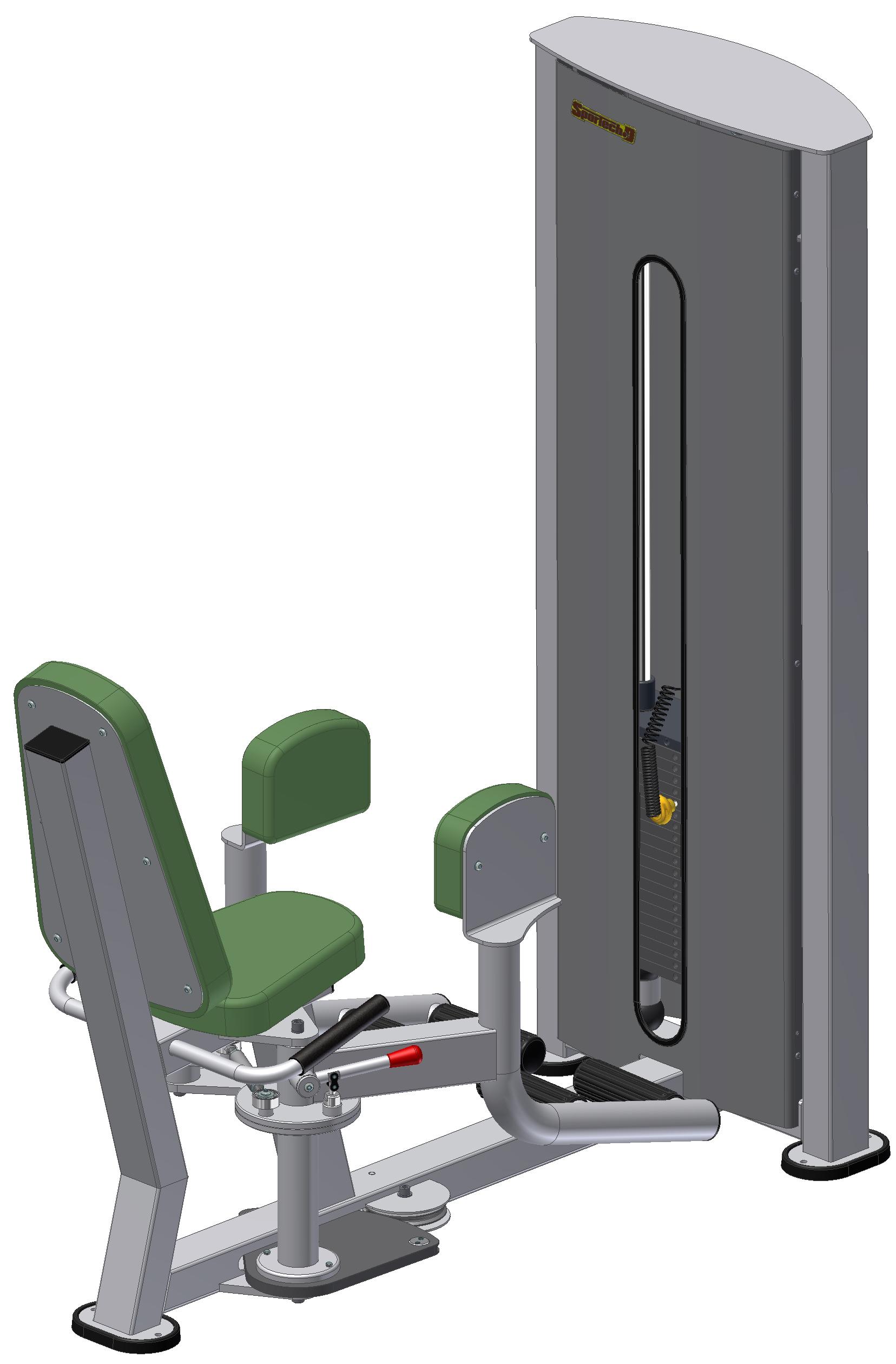 Тренажер для відвідних м'язів стегна