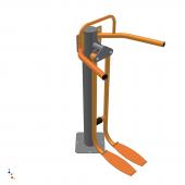 Тренажер для привідних-відвідних м'язів стегна одинарний CV
