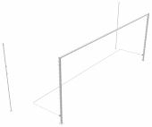 Ворота футбольные 7,32х2,44