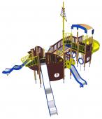 Игровой комплекс «Фрегат Морской Волк»