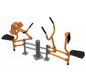 Тренажер для м'язів біцепса- Тяга важеля CV